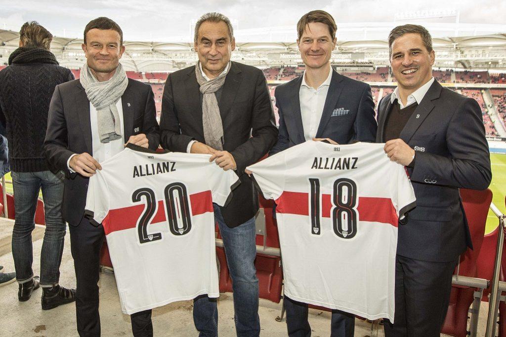 Allianz fördert Aufsteiger VfB